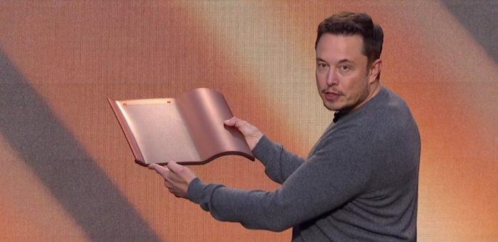 Tejas solares de Tesla