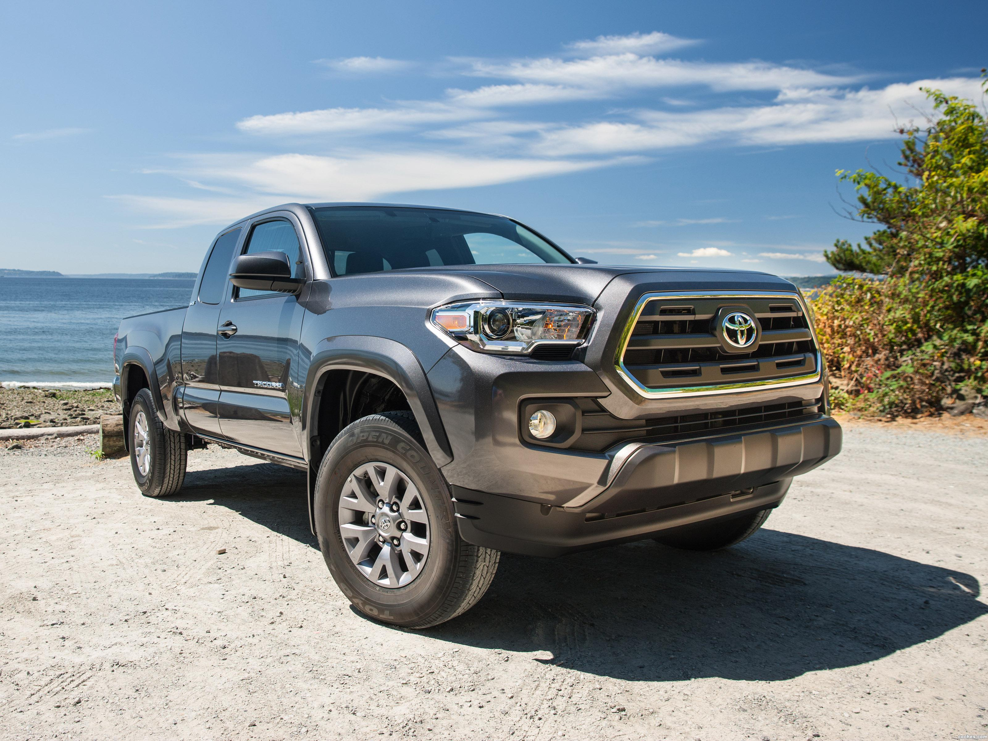 fotos de toyota tacoma sr5 access cab 2015. Black Bedroom Furniture Sets. Home Design Ideas