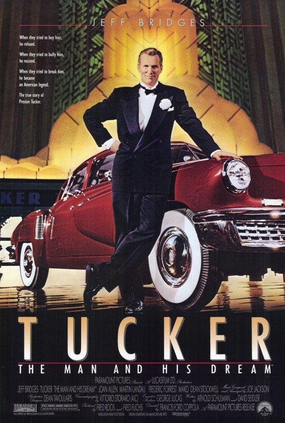 Póster de 'Tucker, un hombre y su sueño'