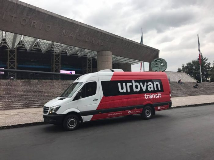Furgoneta de Urbvan