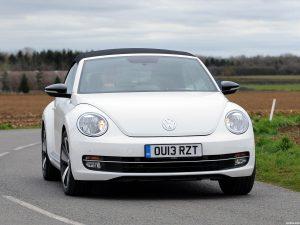 Volkswagen Beetle Cabrio 60s Edition UK 2013