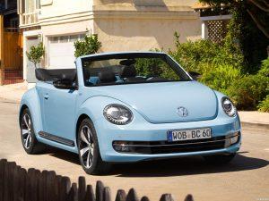 Volkswagen Beetle Cabriolet 60s Edition 2013