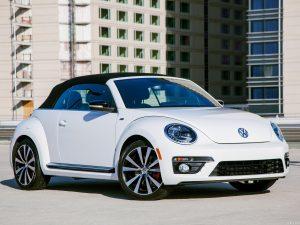 Volkswagen Beetle Convertible R-Line USA 2013