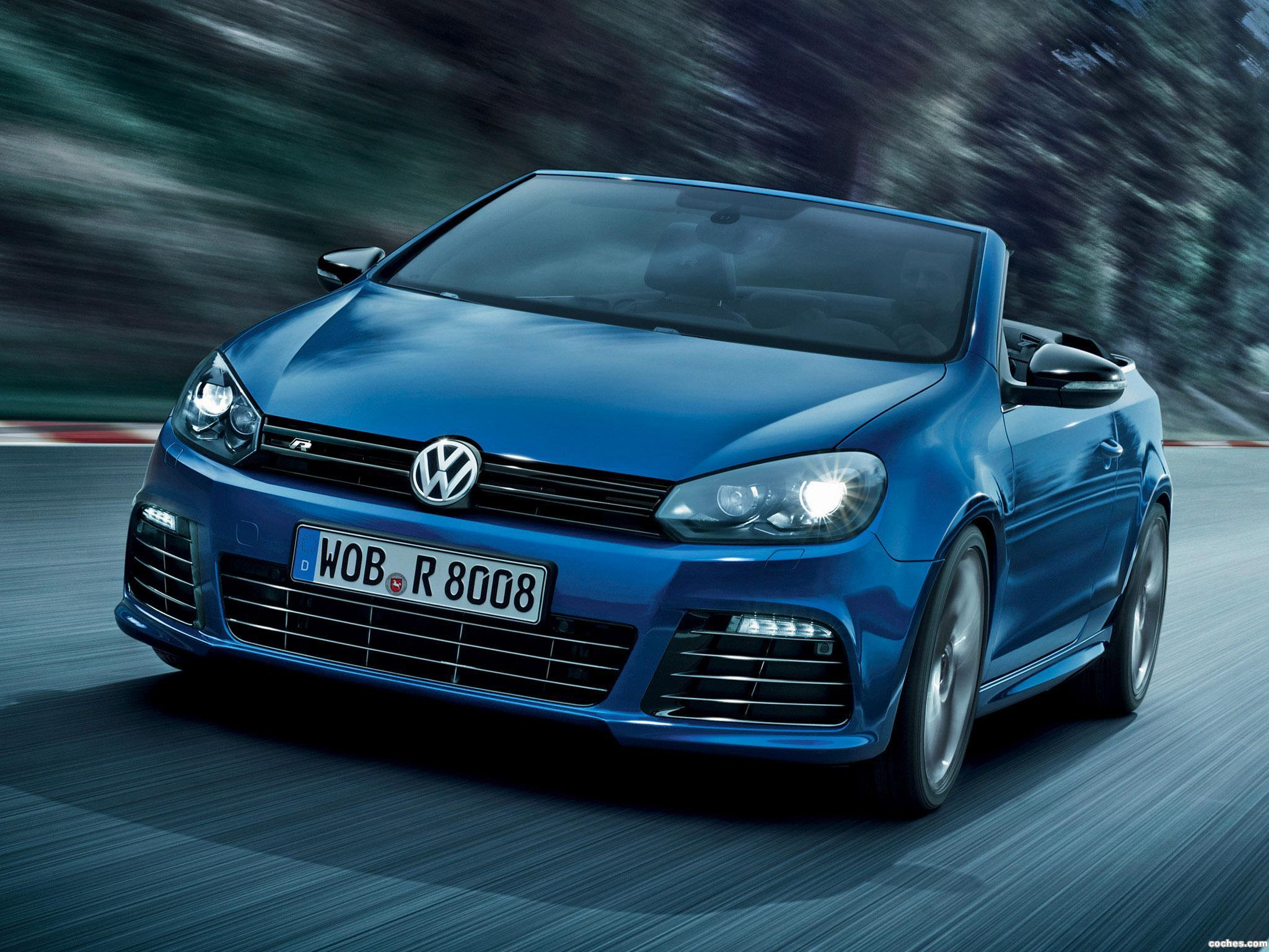 fotos de volkswagen golf vi r cabrio 2013 foto 20. Black Bedroom Furniture Sets. Home Design Ideas
