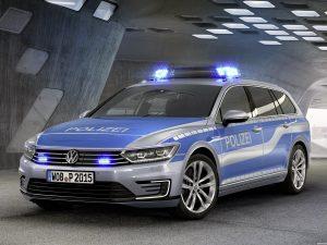 Volkswagen Passat Variant GTE Plug-in Hybrid Police Car 2015