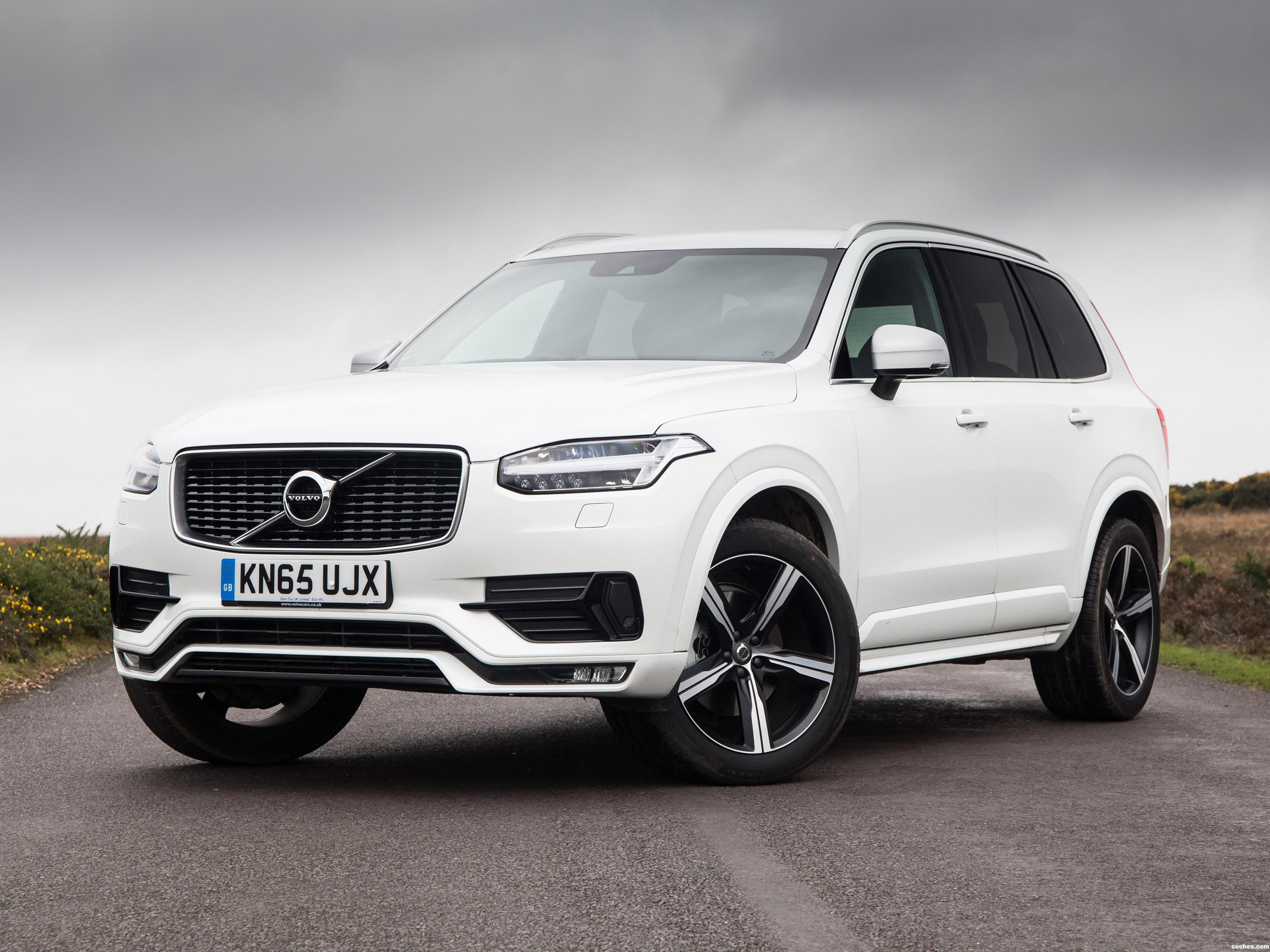 Fotos De Volvo Xc90 T6 R Design Uk 2015