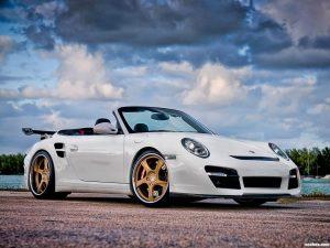 Porsche Vorsteiner 911 V-RT Twin Turbo Cabriolet 2012