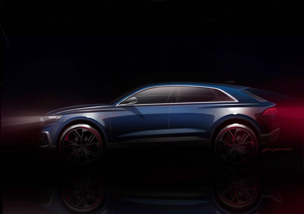 Audi Q8 concept boceto