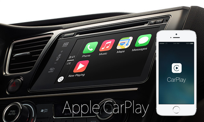 Vistazo general de CarPlay