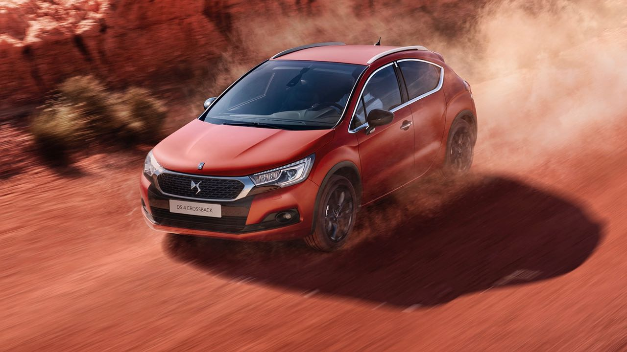 DS 4 Crossback Terre Rouge 2017