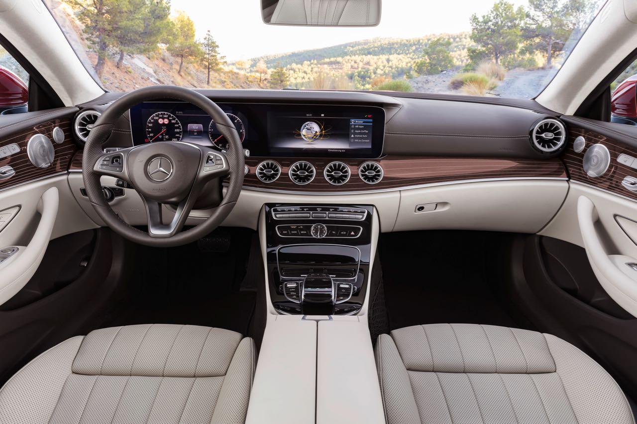 Mercedes clase e coup 2017 precios motores equipamiento for Interieur e klasse 2017