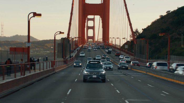 Uber autónomo en San Francisco