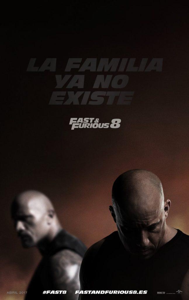 Póster de Fast & Furious 8