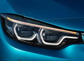 faros del BMW serie 4