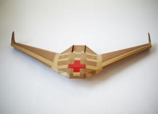 drones de cartón