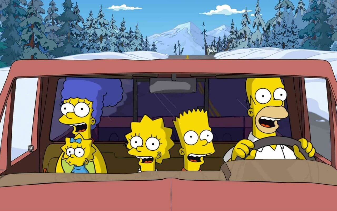 simpsons-in-the-car