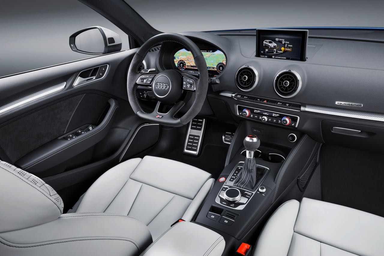 Interior Audi RS 3 Sportback 2017