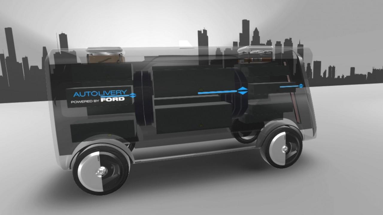 Ford Autolivery furgoneta
