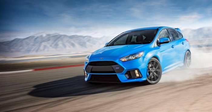 Ford Focus RS drift mode