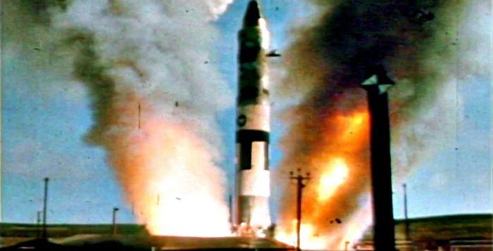 Lanzamiento de un misil nuclear