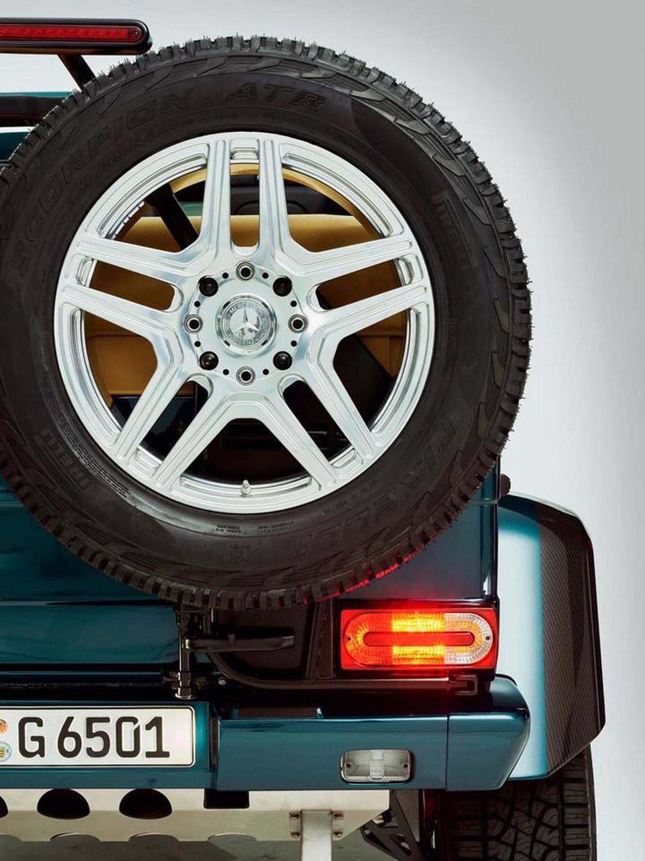 Mercedes-AMG G 65 4×4² Convertible teaser