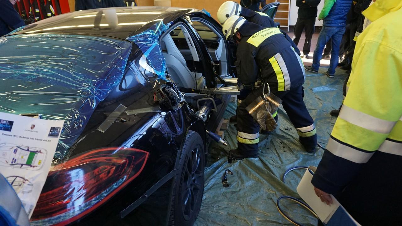 Porsche Panamera bomberos alemanes