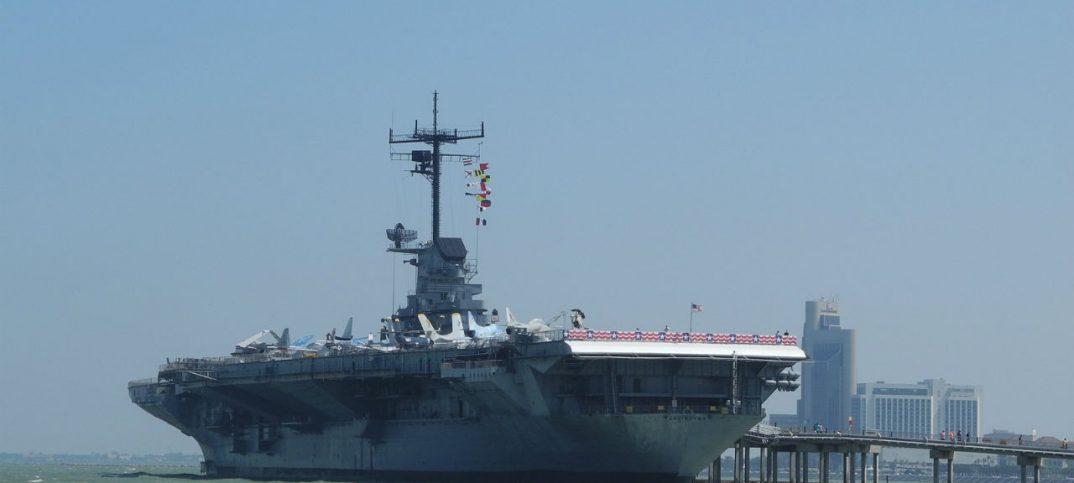 portaaviones con catapulta electromagnética