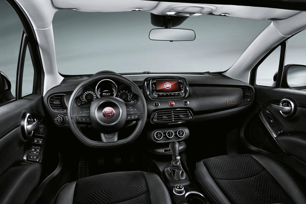 Fiat 500x s design el m s chulo del lugar for Fiat 500 x interieur