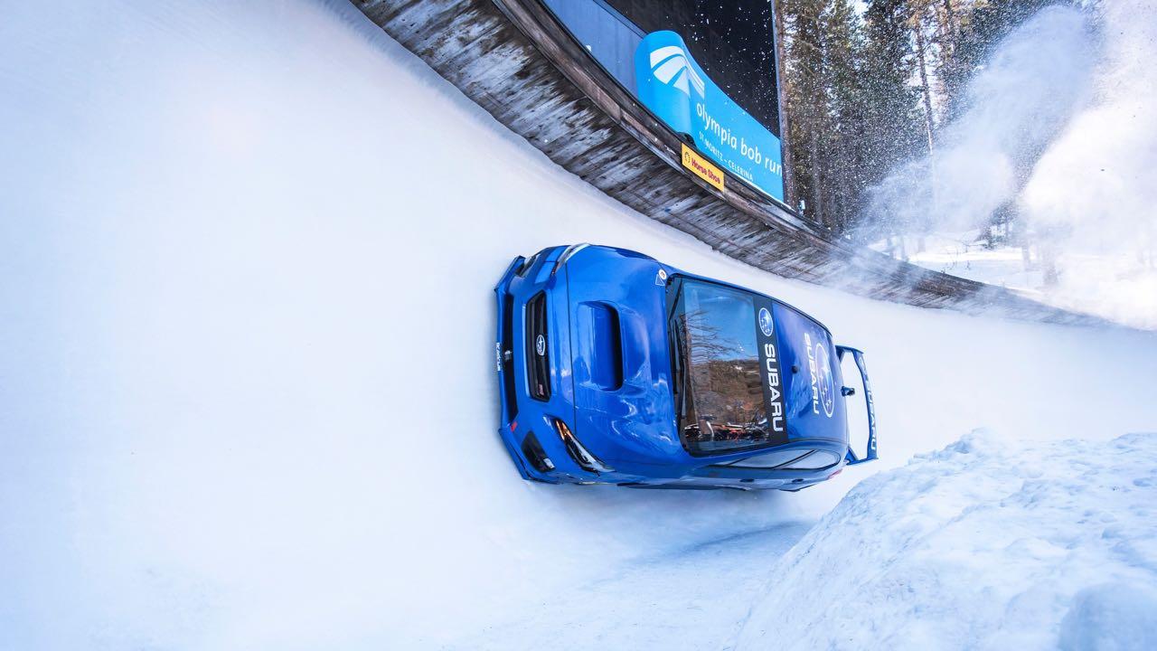 Subaru WRX STI bobsleigh – 2