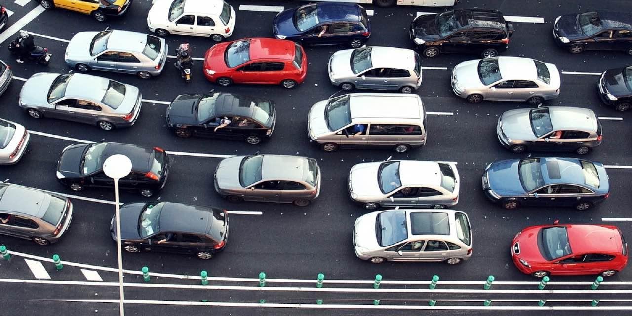coches circulando