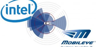 logo de Intel y de Mobile Eye