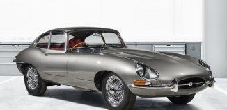 jaguar E type reborn