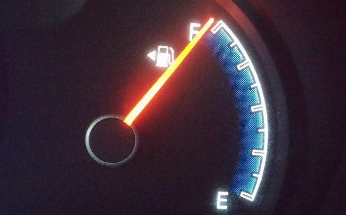 marcador gasolina