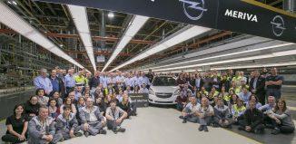 Opel Meriva fin de producción