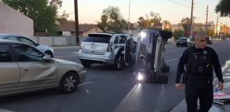 Uber accidente