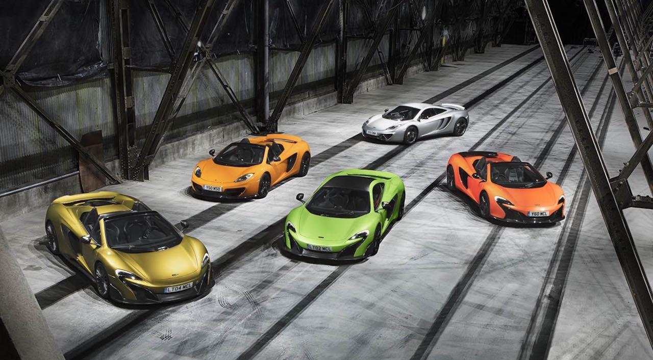 McLaren vehiculos gama – 1