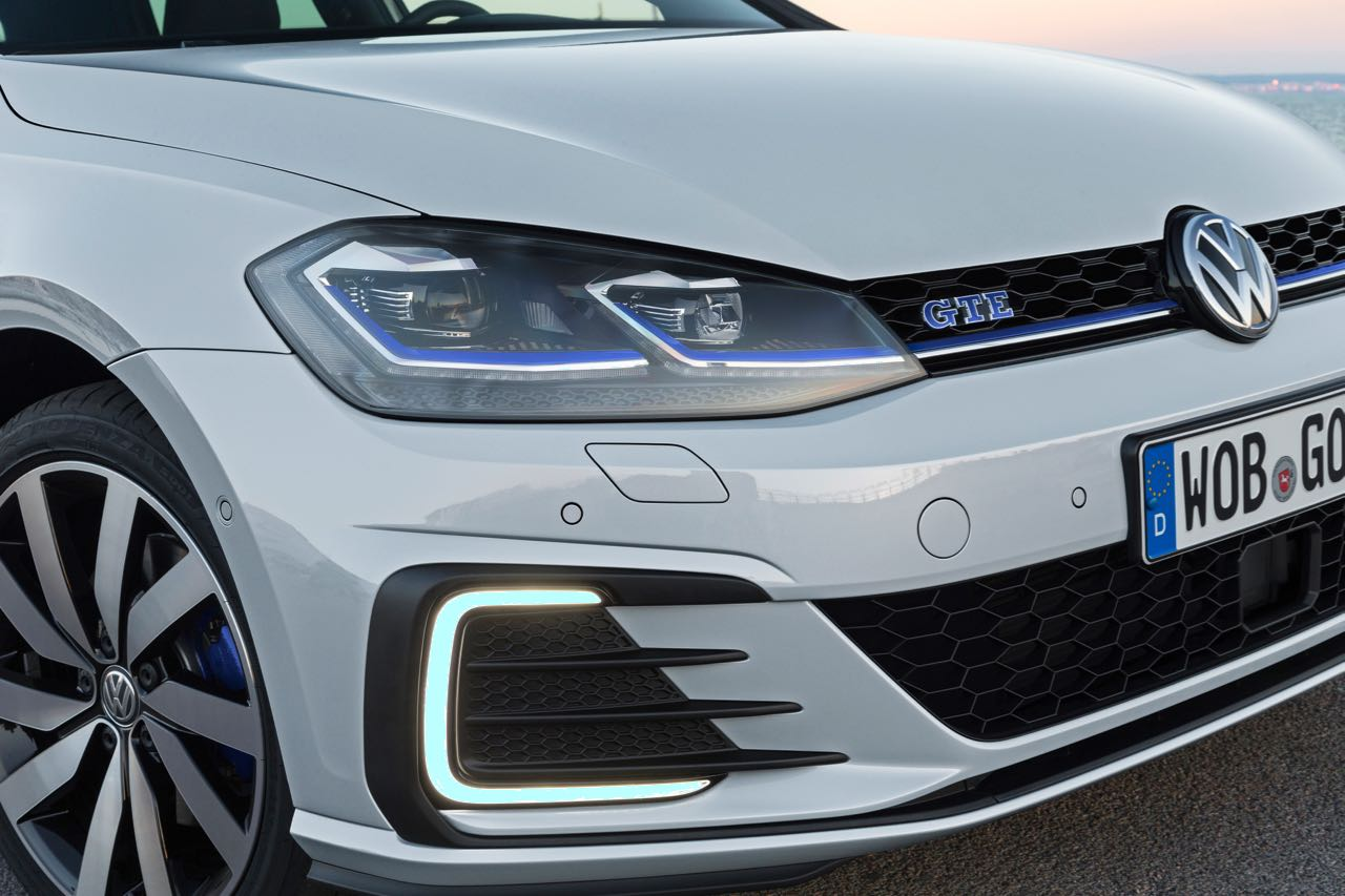 volkswagen golf gte  la version hibrida enchufable