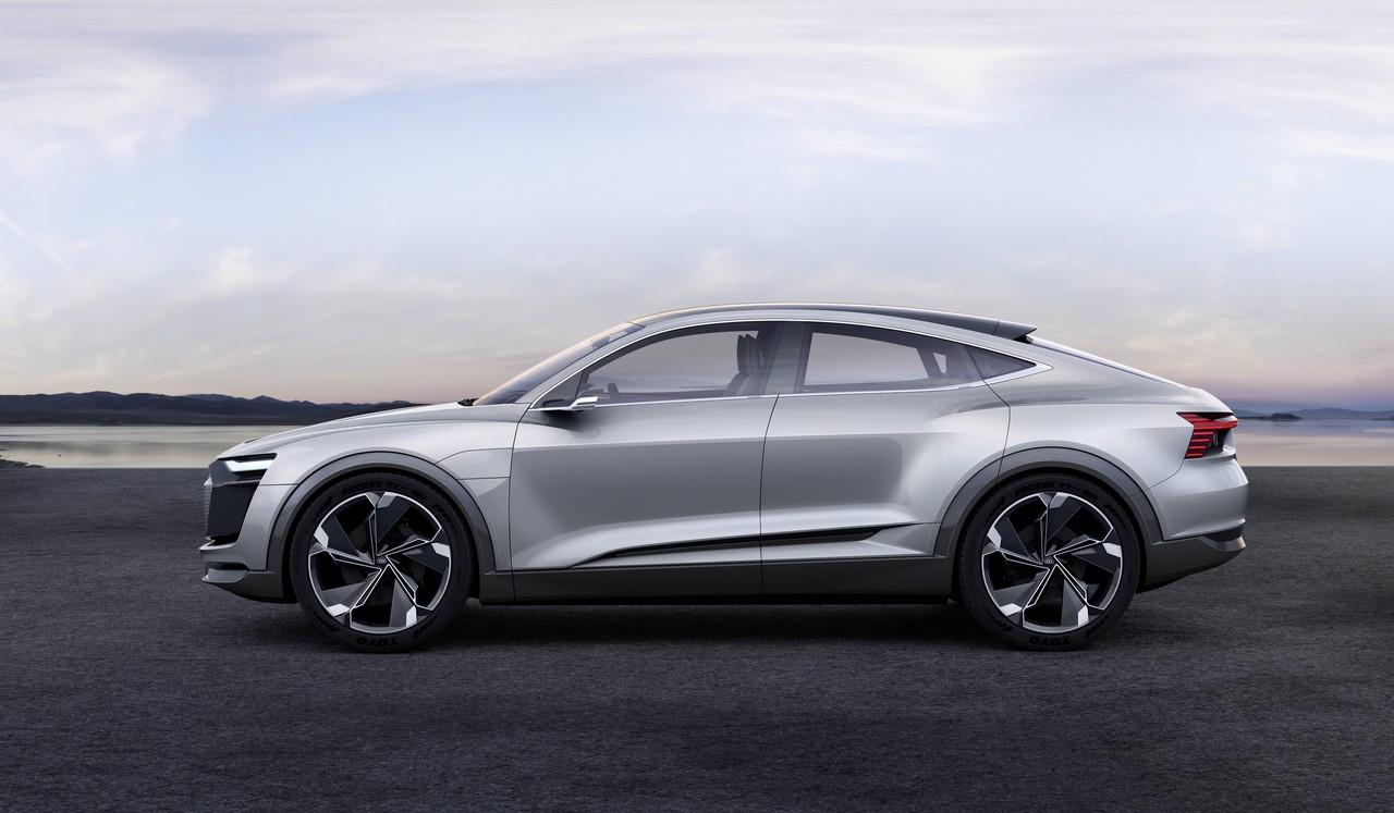 Audi suv concept etron sportback 16
