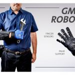 guante robot GM grafico
