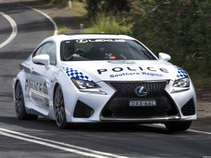 Fotos de Lexus RC-F Police Car Australia 2016