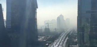 nube toxica en china