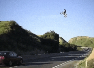 salto entre autopistas