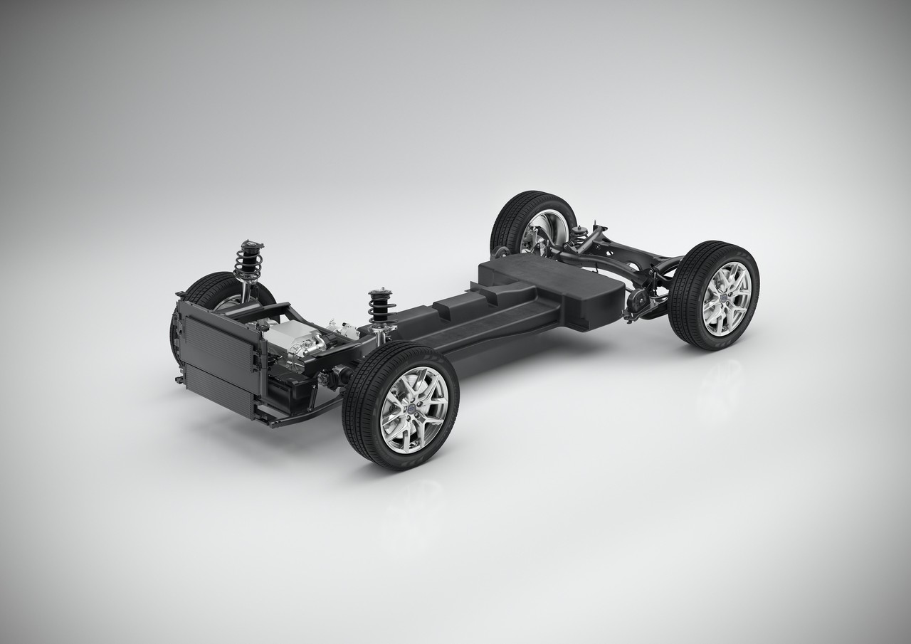 CMA Battery Electric Vehicle Technical Concept Study – 3/4 view