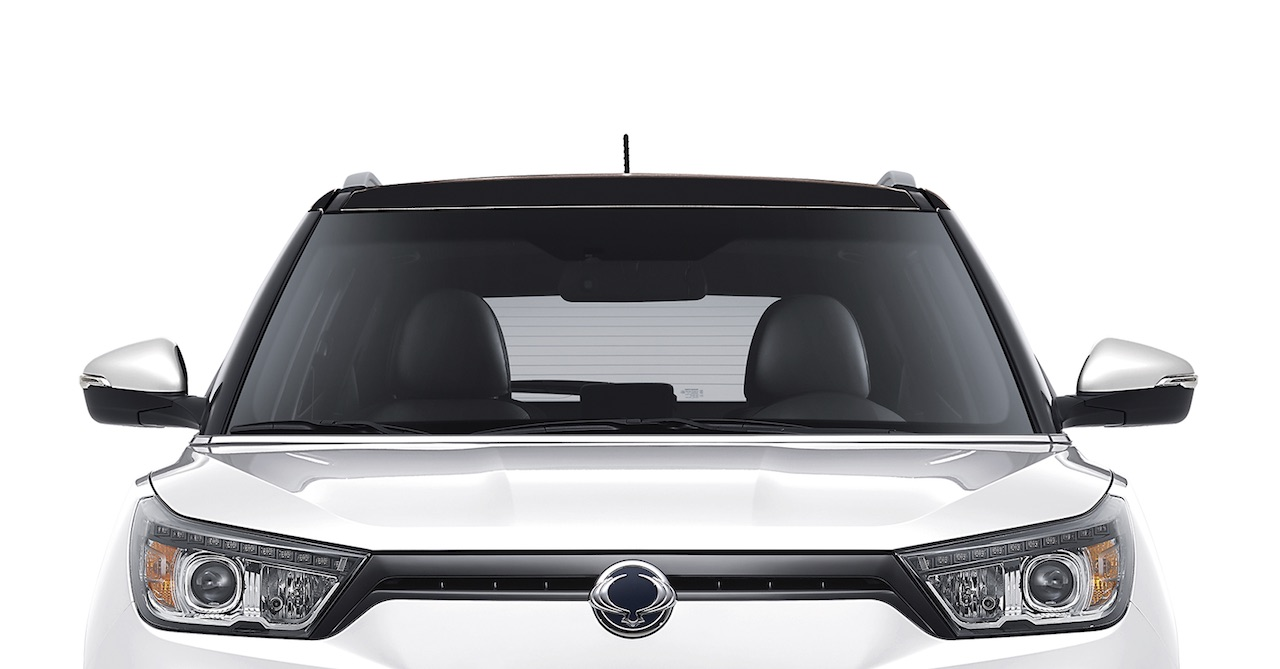 SsangYong XLV 2017 frontal