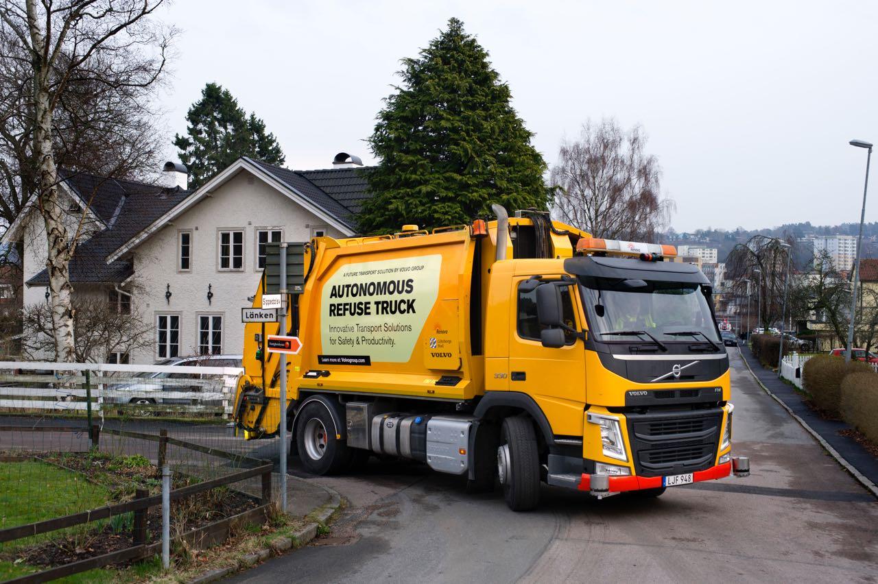 Volvo Trucks camion basura autonomo – 17