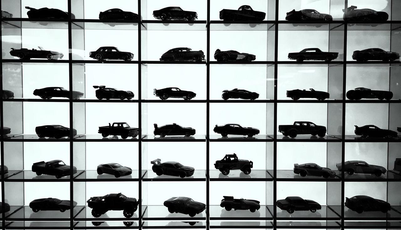 coleccion coches negros