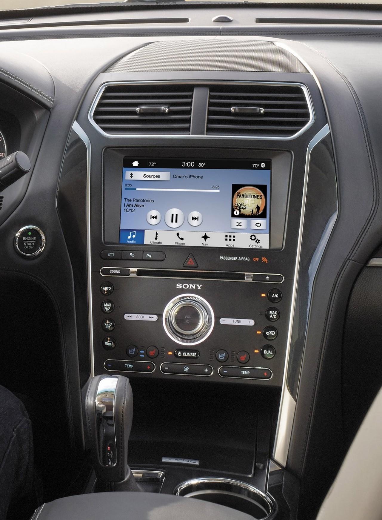 el sistema sync 3 de ford llegan los coches emp ticos. Black Bedroom Furniture Sets. Home Design Ideas