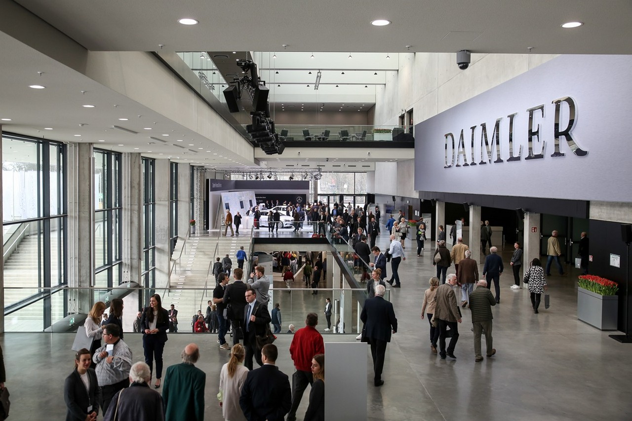 Daimler Hauptversammlung 2017 am 29. März 2017 im City Cube in Berlin.