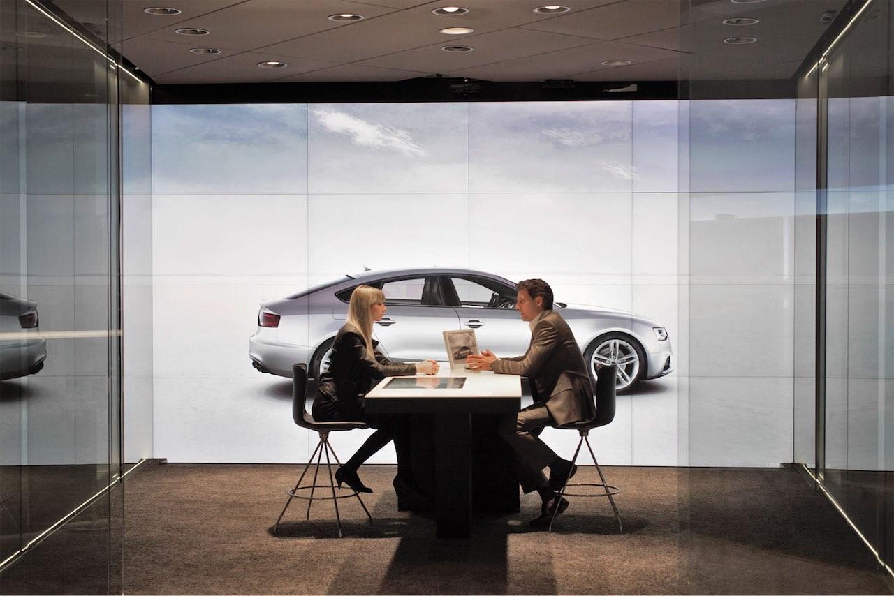 Audi City concesionario futuro