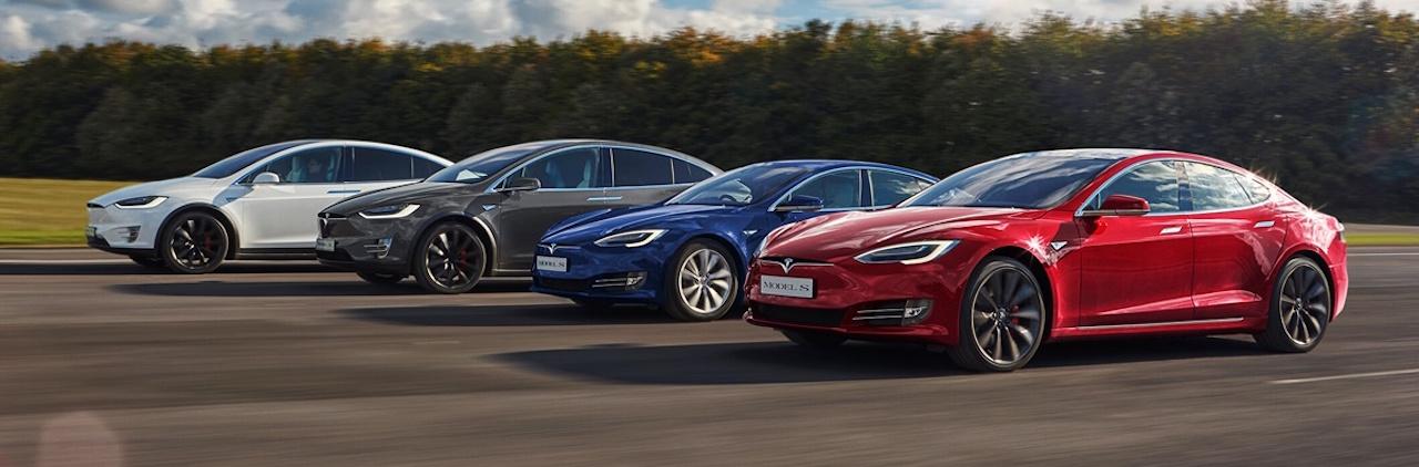 Tesla gama 2017